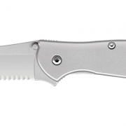 The blade is a modified drop-point, so it's a good slicing knife, while the slim tip gives it piercing capability and the ability to do detailed work. For a partially serrated blade, choose the 1660ST Leek. The Leek features the SpeedSafe ambidextrous assisted opening system. Whether you're left-handed or right-handed, just pull back on the blade protrusion or push outward on the thumbstud and the Leek's blade is ready to go to work.