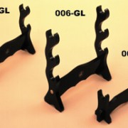 OG005 OG006 OG007 Sword Display Stands for table or shelf, aka 005-GL 006-GL and 007-GL