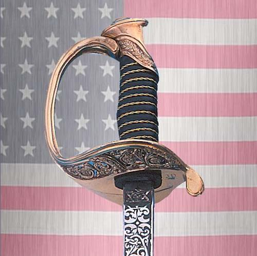 US Marines dress uniform sword