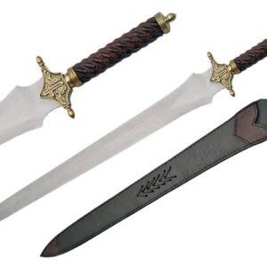 An inexpensive, good-looking costume sword.