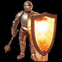 97-1001 Knight Lights come in two styles and several colors.