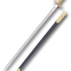 aka DG-A11, the Confederate N.C.O. Sword is built to withstand the rigors of reenactment.