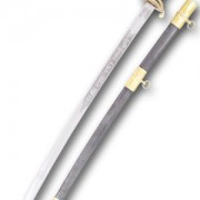 aka DG-A15, the Confederate Cavalry Officer Sword is built to withstand the rigors of reenactment.