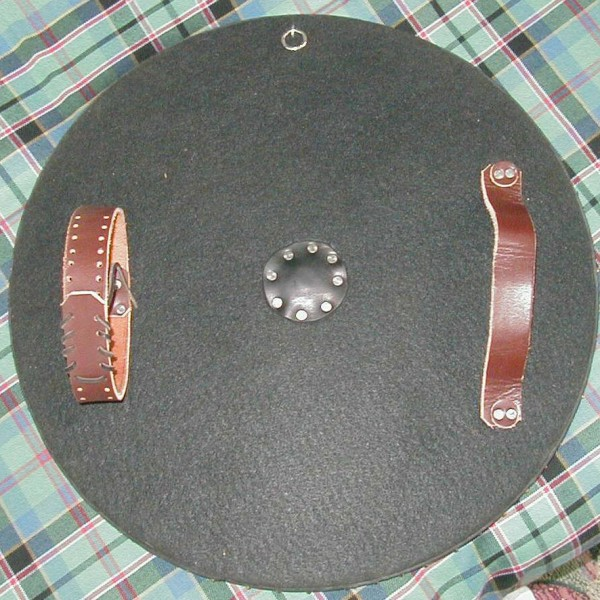 The HF1004 Scottish Targe without a spike is more like a buckler.