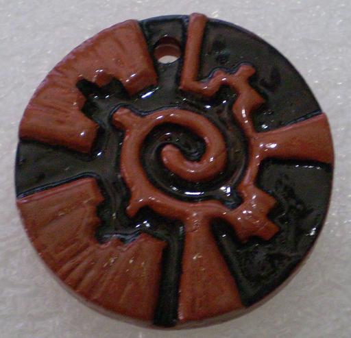 MH1001 Hunab Ku pendant by Mud Hen
