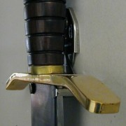 An example of the Marto 15000 Adjustable Wall Bracket for swords